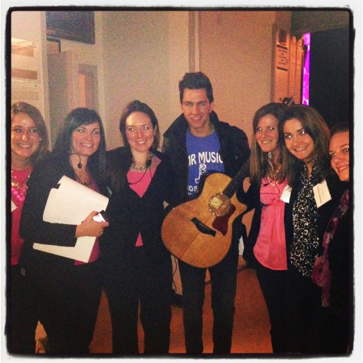 We got to meet Andy Grammer!